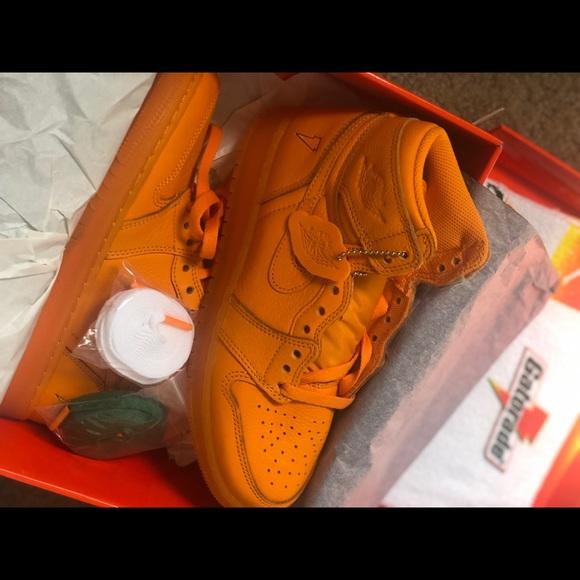 hot sale online 3bca9 bf718 Nike Air Jordan 1 GATORADE ORANGE 5.5Y NWT